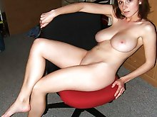 Fascinating mommies posing totally nude